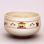 奈良絵茶碗