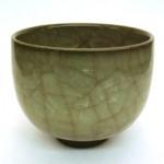 岡 重利  米色瓷丸