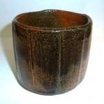 大樋焼飴釉茶碗