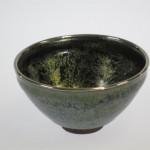 天目茶碗(銀覆輪)